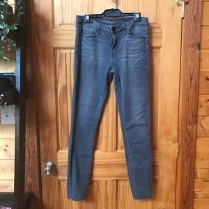 Grey Stretchy Skinny Jeans- Worn Once Like New